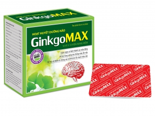 Hoạt huyết dưỡng não Ginkgo Max