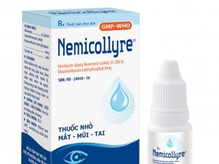 Thuốc nhỏ mắt, mũi, tai Nemicollyre 8ml